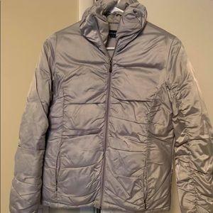 Wet Seal silver coat